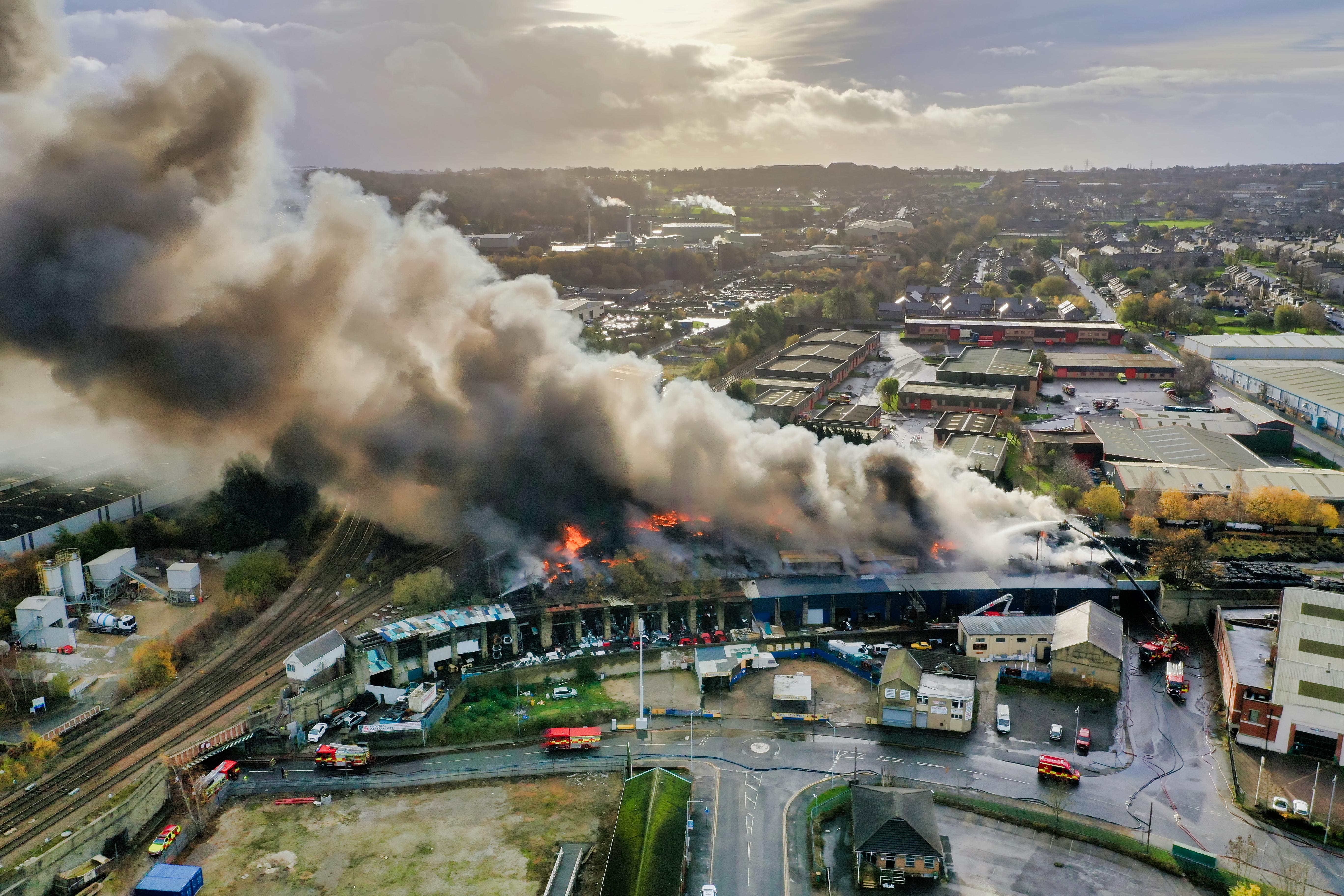 Bradford Tyre Site – Inferno – Manchester Road 16/11/2020