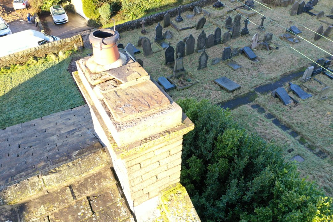Cost for using Drones to Inspect Church Roofs