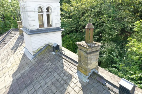 Drone - Roof / Roofing Inspection - Dilapidation - Gutter / Guttering - Chimney Stack - Broken Tiles / Slates - Independent roof inspector near me