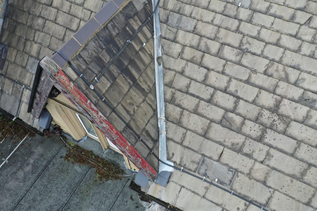 Drones used for inspecting Roofs for Insurance Claims