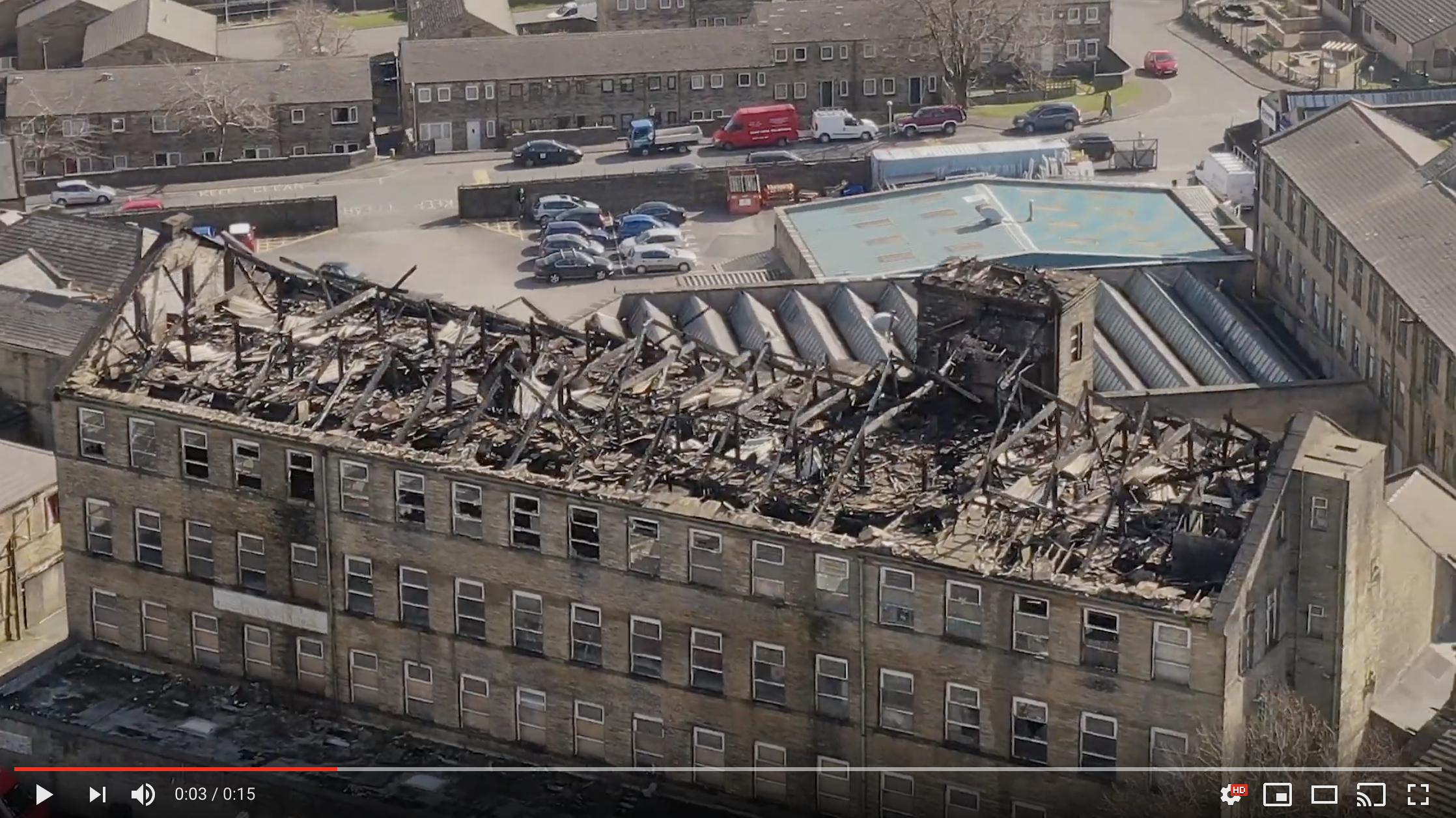 Bradford Mill Fire – Aftermath