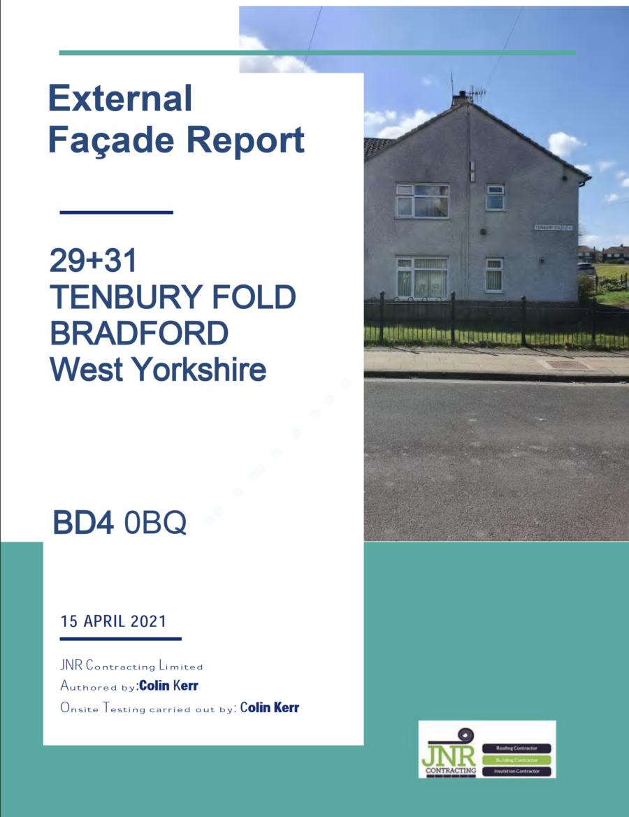 Cladding / Facade Report - Tenbury Fold - Bradford